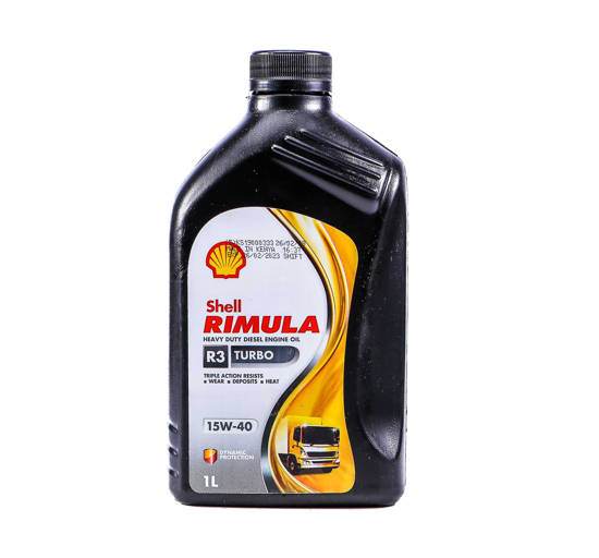 Picture of SHELL Rimula R3  X 15W 40-12 X 1 LTR
