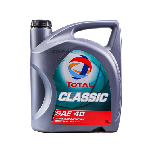 Picture of TOTAL Classic SAE 40-2 X 5 LTR